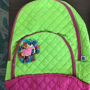 """""""Classy Cats"""" Quilted Backpack"""
